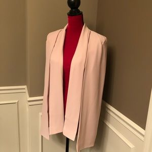 Forever 21 Blush Pink Cape Jacket 💕